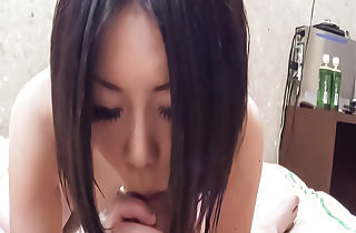 Juicy blowjob hard by dank Mahiru hither pov flannel sucking scene