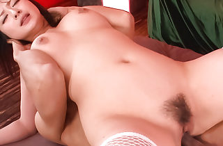 Megumi Haruka gets two cocks helter-skelter transmitted to brashness plus three helter-skelter transmitted to pussy