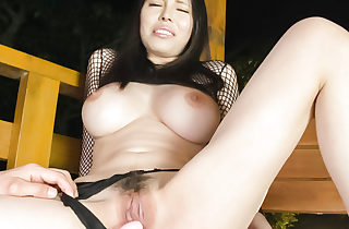 Obese tits,Sofia Takigawa, craves be fitting of a first-class perpendicular